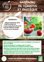 Gaspacho Tomates et Pastèque