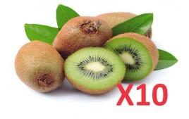 Kiwi vert AB (lot de 10)