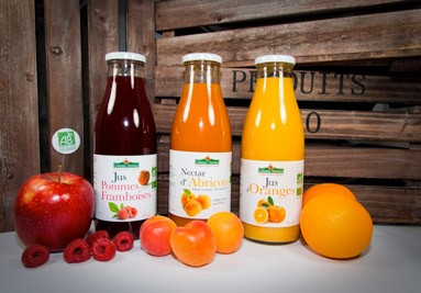 Découvrez nos jus de fruits bio